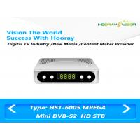 Wholesale Mini FTA  DVB S2 Set Top Box , Full HD Mpeg4 H 264 DVB S2 Digital Receiver from china suppliers