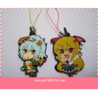 Quality lovely cartoon soft PVC keyring for sale