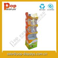 Wholesale Snacks Foldable Cardboard Display Stands For Market Promotion from china suppliers