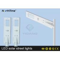 Wholesale Automatic On / Off  Solar Power LED Street Lamp With Solar Panel & Li Battery from china suppliers