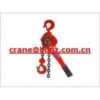 Wholesale china manufacture manual lever hoist with high quality from china suppliers