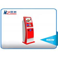 Wholesale Electronic Multi Interactive Touch Screen Kiosk LED Digital Signage , Red from china suppliers