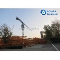 Quality 5 ton Topless Tower Crane 50m Jib Overhead Crane with Wire Rope Limit switch for sale