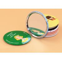 Wholesale Promotional Tin Pocket Make Up Mirror With Full Printing Logo Treatment from china suppliers