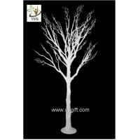 Wholesale UVG wedding centerpiece ideas white plastic dry tree fake decorative twigs for tables DTR29 from china suppliers