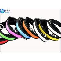 Wholesale Dog Accessories Pet Products Fashionable Led Nylon Dog Leashes , LED Dog Collar from china suppliers