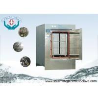 Wholesale Hinge Door Pass Through Large Steam Sterilizer With Low Water Indication System from china suppliers