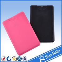 Buy cheap Miniature black pink Colorful plastic Travel Perfume Bottle reusable from wholesalers