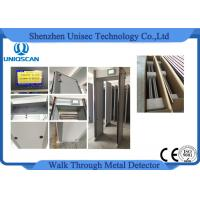 Wholesale UZ800 walkthrough metal detector Archway , high sensitivity airport security equipment from china suppliers