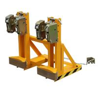 Wholesale Loading Capacity 1000Kg Drum Clamp Attachment Bandage-type Double Protection from china suppliers