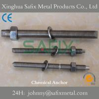 Wholesale Chemical Anchor/ Anchor Bolt/ Resin Anchor Stainless Steel 304(A2) 316L(A4) from china suppliers