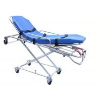 Quality FDA / CE / ISO Automatic Loading Ambulance Stretcher High Strength Aluminum Alloy for sale