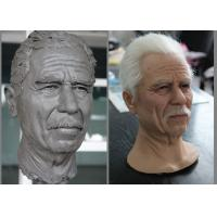 Quality Custom Realistic Museum Famous Wax Museums / Wax Sculpture Of Greece Old Man for sale