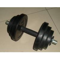 Wholesale professional weight plate dia25mm  black Rubber coated round dumbbell for gym from china suppliers