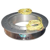 Wholesale 5 Wires Large Current Pancake Slip Ring With 450mm Hole , Compact Design And Reliable Capacity from china suppliers