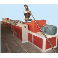 Wholesale PLC Control PVC Window Profile Making Machine , Plastic Profile Extruder from china suppliers