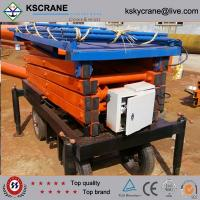 Wholesale 12m Scissor Type Elevating Work Platform/Scissor Lifter from china suppliers