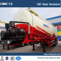 Wholesale 3-axle 50 tons cement bulk tanker semi trailer from china suppliers