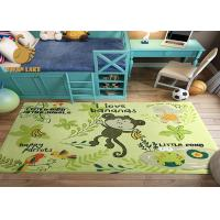 Wholesale Corrosion Resistant Purple Non Slip Door Mat / Bathroom Area Rugs from china suppliers