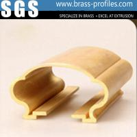 Buy cheap Various Custom Made Fashion Golden Decorative Lowes Brass Railing from wholesalers