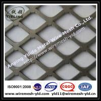 Wholesale 1-1/2 #16 F carbon steel Flattened expanded metal wire mesh,metal sheet from china suppliers