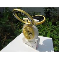 Wholesale Multi-function Solar Powered Electronic Fan with FM Radio, MP3 Player, and LED Desk Lights from china suppliers