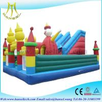 Wholesale Hansel commercial inflatable blow up jumping castle in shopping mall from china suppliers