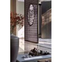 Wholesale Buy From Foshan Factory Mirror Gold Stainless Steel Partition Screen With Laser Cutting from china suppliers