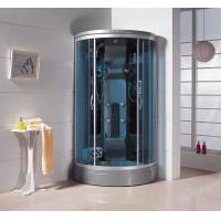 Wholesale 1450*900*2150mm Silver aluminum infrared sauna cabin residential steam showers room from china suppliers