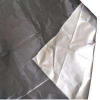 100% Polyester Taffeta Fabric with Silver Coating Fabric