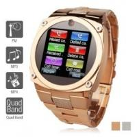 """Wholesale TW818B Unlocked Watch Cell Phone 1.6"""" TFT Touch Screen Quad Band GSM Mobile Hidden Camera from china suppliers"""