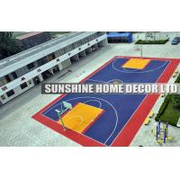 Wholesale Polypropylene Multi Purpose Outdoor Sports Flooring For Futsal / Basketball Court from china suppliers