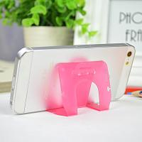 Wholesale Small Pink Pp Phone Desk Stand Cable Drop Clips Boomray 5.1*8.5 from china suppliers