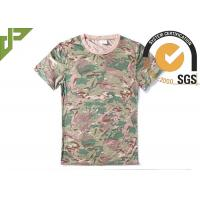 Wholesale CP Camouflage Tactical T Shirts Military Style For Outdoor Combating from china suppliers