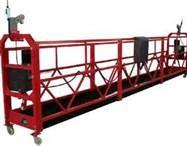 Wholesale Professional red 7 M / min ZLP - 800 suspended platform / swing stage from china suppliers