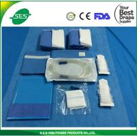 Wholesale free samples medical blue Dental Drape Kits with Gown for Clinic from china suppliers