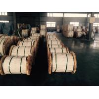 Quality Long Life Galvanised Wire Rope , Steel Strand Cable For Flexible Shielded Cable for sale