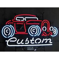 Wholesale Decorative Orange / Purple / Green Cute Automotive Neon Signs With Chains from china suppliers