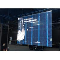 Wholesale Low Power Consumption Led Transparent Screen , Led Video Wall For Shopping Mall from china suppliers
