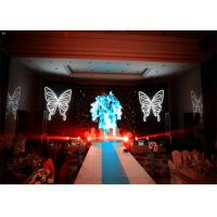 Quality SMD Stage Background led display indoor , Stage Video Screens Aluminum Fame for sale