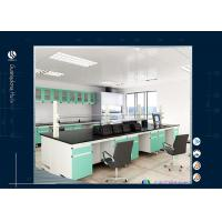 Wholesale Cold Storage System Lab Cabinets And Countertops , Color Optional Laboratory Work Benches from china suppliers