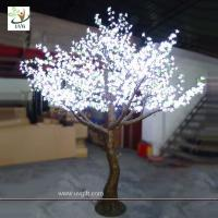 Wholesale UVG LED artificial white LED tree lighted home decoration 10ft high from china suppliers
