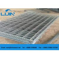 Wholesale Stackable Detachable Wire Mesh Storage Cages, 50 * 50 Grinding Metal Storage Cage from china suppliers