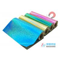 Quality Yellow Pink Colored Rubber Magnet Rolls Of Magnetic Sheeting for Magnetic Photo Frames for sale