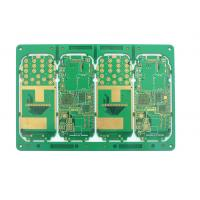 Wholesale Electronic HDI 1.6mm board thickness and 6 layer pcb with hasl from china suppliers
