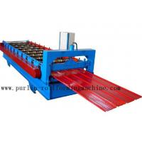 Wholesale Metal Trapezoidal Cold Roll Forming Machine / Roofing Panel Roll Forming Equipment from china suppliers