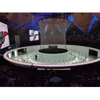 Quality Big Size Holographic Projection System 3D Hologram Mesh Screen For Live Show for sale