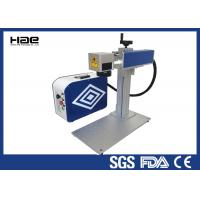 Wholesale Portable 20W Fiber Laser Marking Machine 1064 nm Wavelength For All Metal from china suppliers