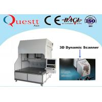 Wholesale 3D Dynamic Scanner Fiber Laser Marking Machine With Sealed Optical System , 375W RF from china suppliers