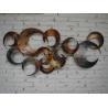 Buy cheap modern metal wall art sculpture from wholesalers
